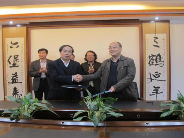 与广西梧州茶厂签订技术转让协议