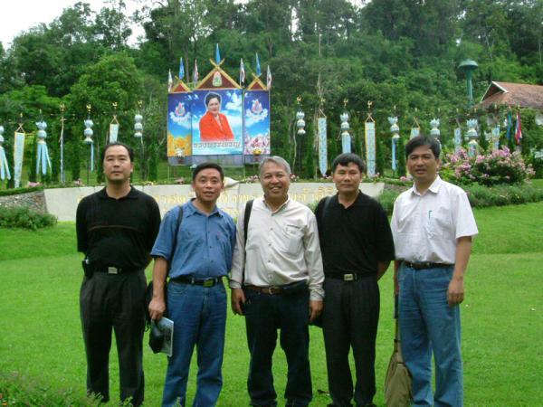 执行中泰政府科技交流项目访问泰国