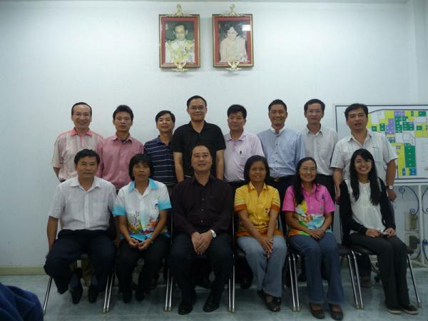 我所组团访泰国罗勇大田作物研究中心